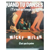 Quand Tu Danses 1982 France - Micky Milan