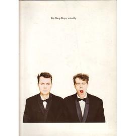 pet shop boys - song book: actually