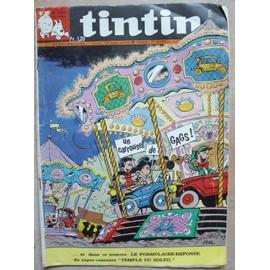 Tintin - Le Journal Des Jeunes De 7 0 77 Ans - Hebdomadaire N�1107