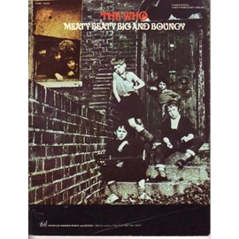 The Who - meaty beaty big and bouncy - Song book - Piano/vocal/guitar