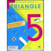Triangle 5e Programme 2010 de Gis�le CHAPIRON