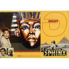 Sphinx - Dp N� 0 : Dossier De Presse D�pliant Du Film De Franklin J Schaffner - Frank Langella - Lesley Anne Down - Maurice Ronet - John Gielgud