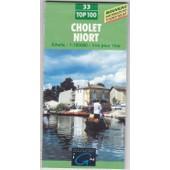 Cholet - Niort - 1/100000 de Collectif