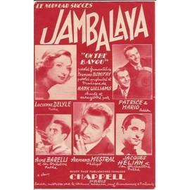 """jambalaya """"on the bayou"""""""