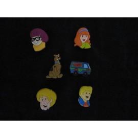 6 Pins Clip Jibbitz Pour Sabots Croc Scooby Doo
