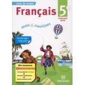 Fran�ais 5� Mots Et Emotions de Evelyne Ballanfat