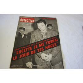 D�tective N� 802 : 10 Novembre 1961