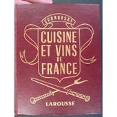 Cuisine Et Vins De France de Curnonsky