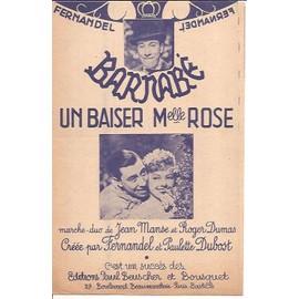 "barnabé ""un baiser mlle rose"" marche"