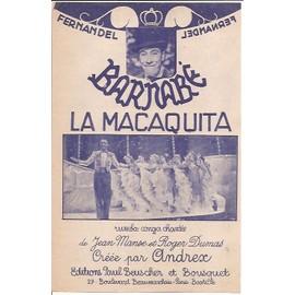 la macaquita (rumba) du film barnabé