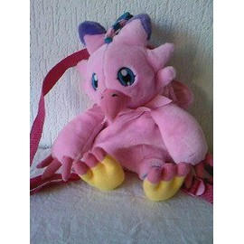 Digimon Peluche Sac � Dos Personnage Rose