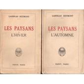 Les Paysans - L'automne,L'hiver,Leprintemps,L'�t� de ladislas reymont