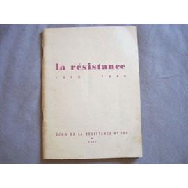 Echo De La Resistance, N� 100, 1964, La Resistance, 1940-1945