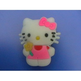 Original: Jibbitz Phosphorescent (Pin's Sabot Crocs Ou Autre) Hello Kitty.