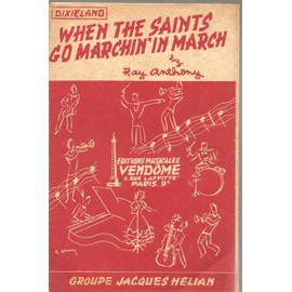 When the Saints go marchin'in March - Partition Orchetre