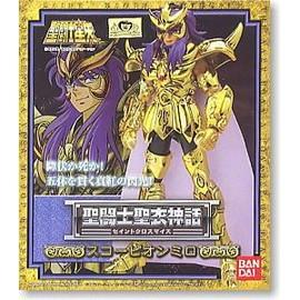 Saint Seiya - Myth Cloth Chevalier D' Or - Milo Du Scorpion - Version Japonaise