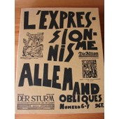 Obliques - L'expressionisme Allemand Numero 6 - 7 de Collectif