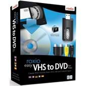 Roxio Easy Vhs To Dvd - Ensemble De Bo�tes - 1 Utilisateur - Cd - Mac - Europe - Avec Dispositif De Capture Vid�o/Tv Usb 2.0