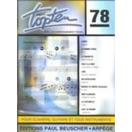 Top Ten N.78 Piano-chant