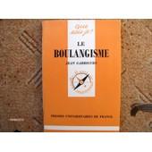 Le Boulangisme de Jean Garrigues