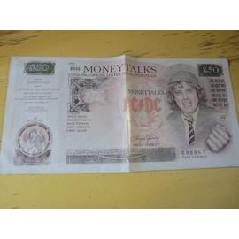 Money talks - Foldout Poster sleeve