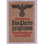Das Partei Programm de ROSENBERG (Algred)