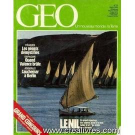 Geo N�73, Mars 1985 -Le Nil