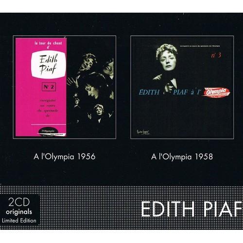 Coffret 2 CD : A L'Olympia 1956 / A L'Olympia 1958