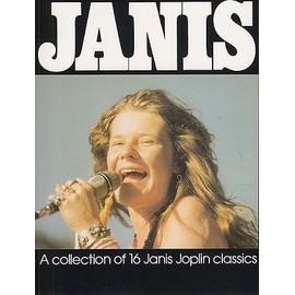 livre de partition de 16 chansons de Janis Joplin en langue americain