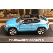 Vw Volkswagen Concept A Concept Car Norev Altaya 1/43 Blau New