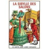 La Sybille Des Salons - Oracle - Tarot - Jeu De 52 Cartes Dvininatoires