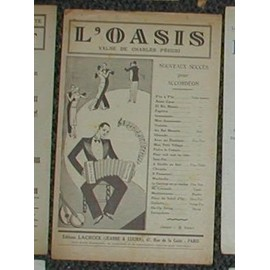 """VALSE DE C. PEGURI """"L'oasis """""""