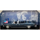 Lincoln Continental Limousine Ss-100 X - Kennedy 1963 - Norev 1/43