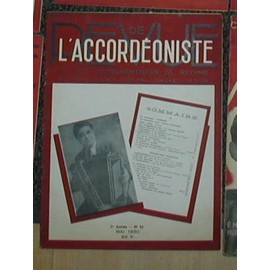Revue de l'accordeoniste et des instruments à rythme N°55 de 1950 (dancing, cabaret, musichall,cinema et radio )