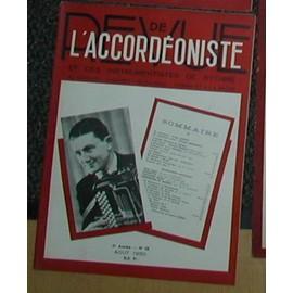 Revue de l'accordeoniste et des instruments à rythme N°58 de 1950 (dancing, cabaret, musichall,cinema et radio )
