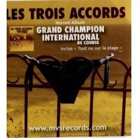 Sticker - Les Trois Accords - Grand Champion International de Course