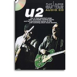 U2 PLAY ALONG GUITAR AUDIO CD (format boitier DVD)