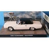 Ford Thunderbird Cabrio Goldfinger 1/43 James Bond 007 Universal Hobbies