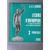 Lecons D Orthopedie 3 Podologie de C Laroche