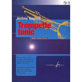Naulais : Trompette tonic vol 1 ( + 1 CD) - Trompette - Billaudot