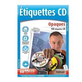 Etiquettes Cd Opaques A4 - 100 Unit�s