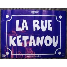 LA RUE KETANOU affiche de concert