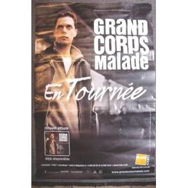 affiche de Grand Corps Malade 2009 - 120x80 cm