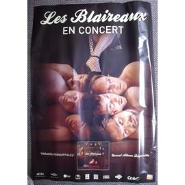 LES BLAIREAUX Affiche de concert