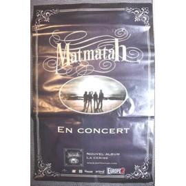 Affiche de concert MATMATAH