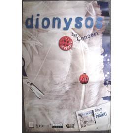 DIONYSOS Affiche de concert