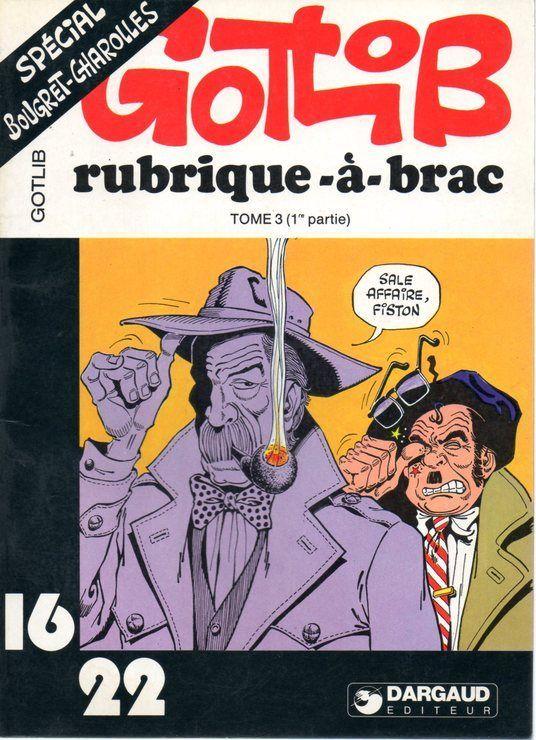 Spécial Bougret-Charolles (Rubrique-à-brac) de Gotlib
