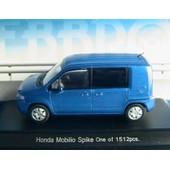 Honda Mobilio Spike Vivid Blue Ebbro 1/43 Ludospace New