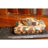 Char D'assaut Panzerkampfwagen Tiger Germany 1944 1/72 Altaya