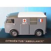Citroen Tub Ambulance Service De Sante Des Armees Ixo Altaya 1/43